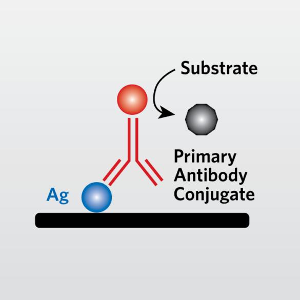Icon representing Enzyme-linked Immunosorbent Assay (ELISA)