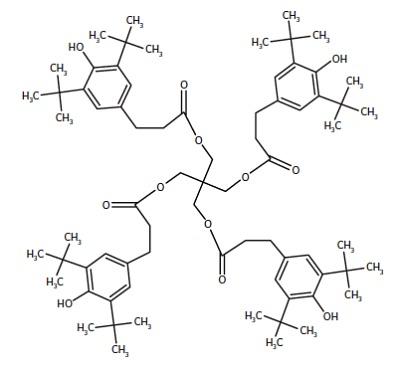 Figure 4 Irganox 1010 molecule.