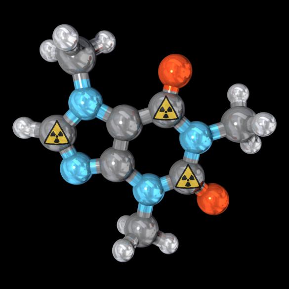 Radiolabeled molecule