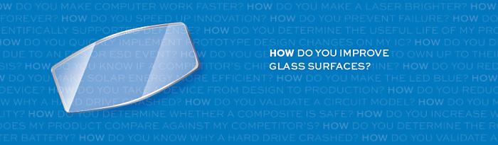 Glass Brochure header