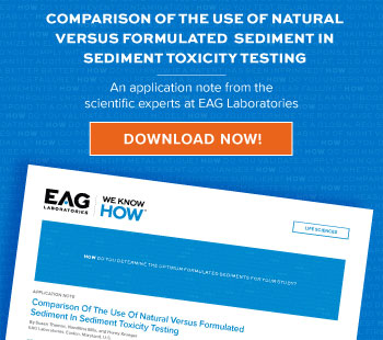 Download app note on Sediment Toxicity Testing
