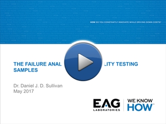 Webinar: Reliability Stress and Failure Mechanisms