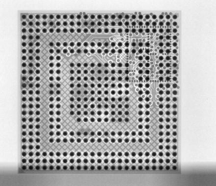 X-ray image BGA