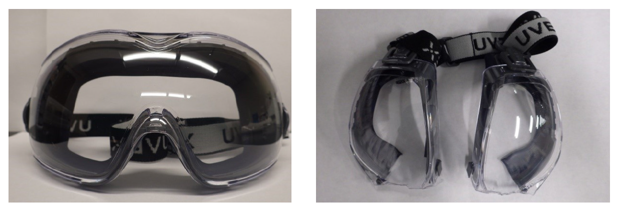 Figure 2: Anti-Fog/Anti-Scratch Safety Goggles