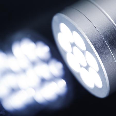 照明とLEDのテスト
